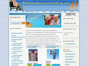 DisabledServiceClothing.com
