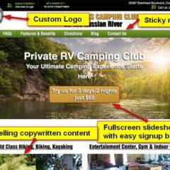 Campground Website
