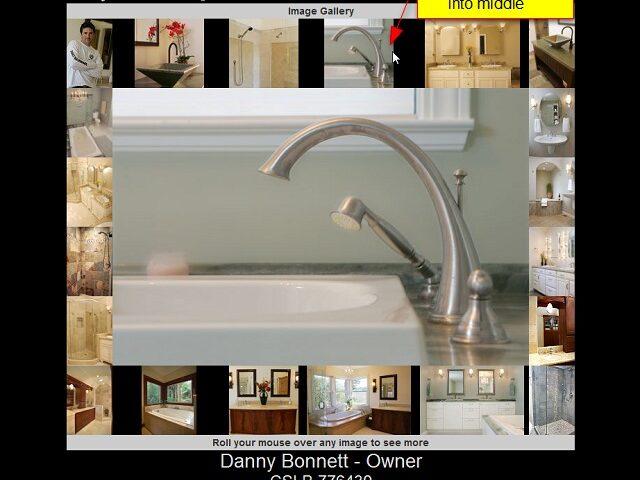 Carpenter showcase website