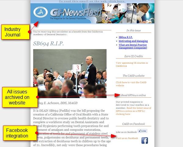 California AGD – newsletter
