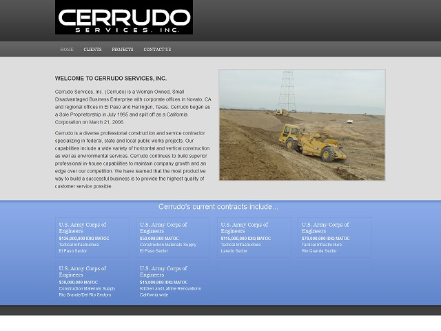 Construction Company – CMS