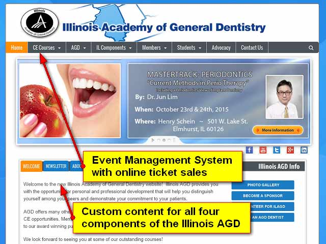 Illinois AGD Official website