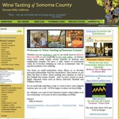 Wine e-commerce website