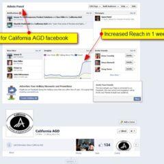 California AGD – facebook ads
